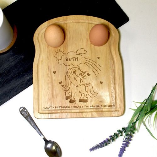 Unicorn Egg and Soldiers Board